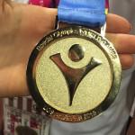 Złoty medal Olimpiady Specjalnej w Los Angeles