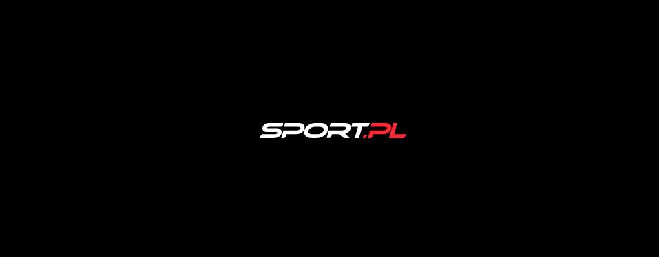 Ilustracja przedstawia logo portalu sport.pl czyli biały napis sport i czerwoną kropkę oraz pl na czarnym tle.