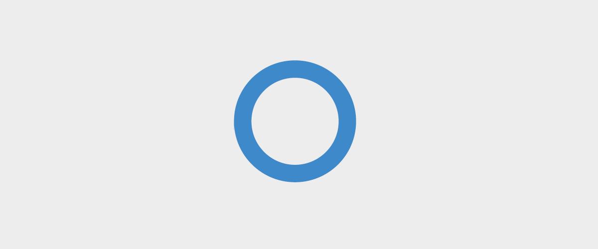 Ilustracja przedstawia niebieski pierścień przyjęty za symbol cukrzycy.
