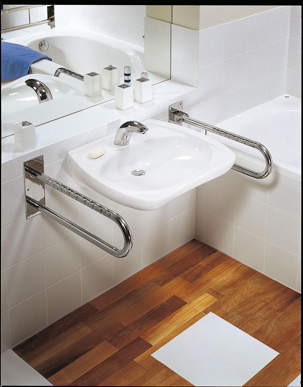 Nowoczesna przystosowana łazienka