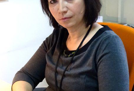 Zdjęcie przedstawia Panią Agnieszkę Grzelak z biura Rzecznika Praw Obywatelskich.