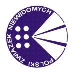 Na zdjęciu widnieje logo Polskiego Związku Niewidomych