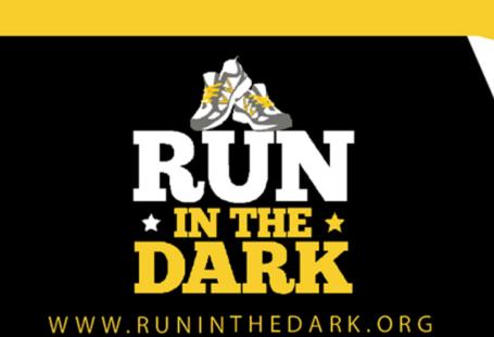 na obrazku znajduje się logo biegu w ciemnościach