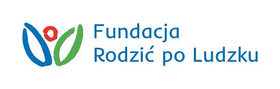 Na obrazku widnieje logo Fundacji rodzić po ludzku