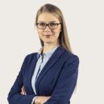 Zdjęcie przedstawia portret Pani Agaty Kwaśniewskiej.