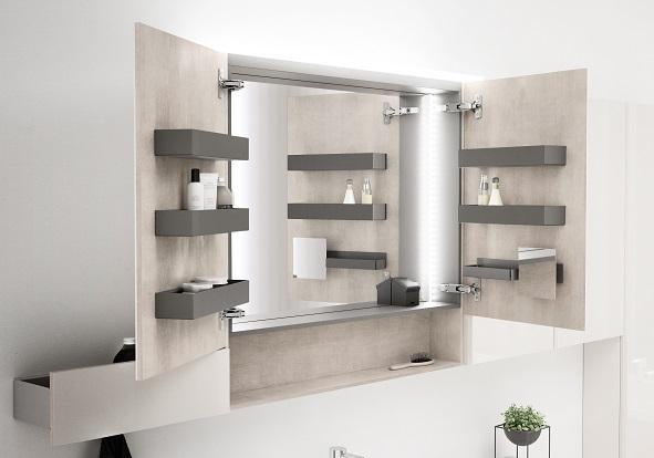 Projekt nowoczesniej łazienki