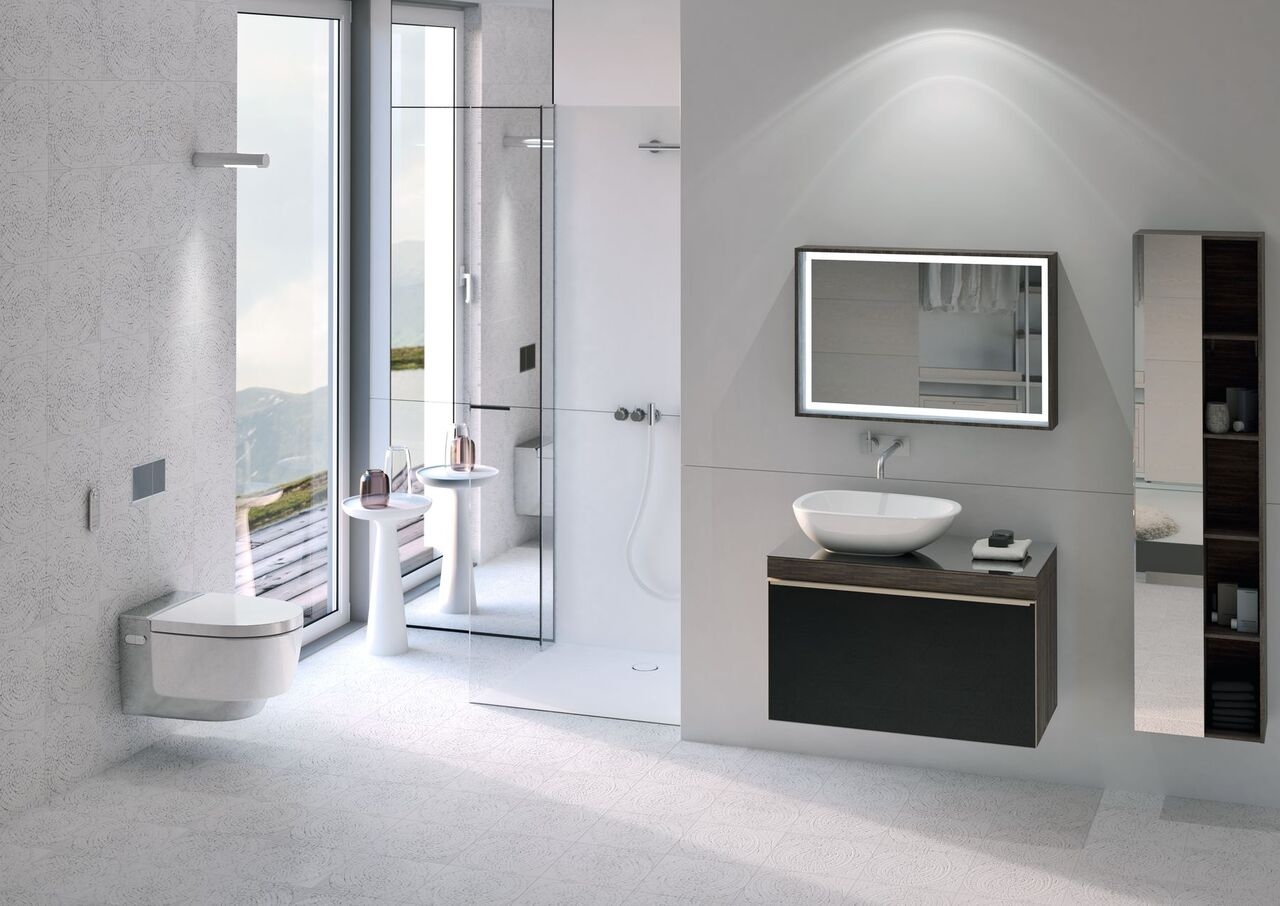 Nowoczesna łazienka geberit