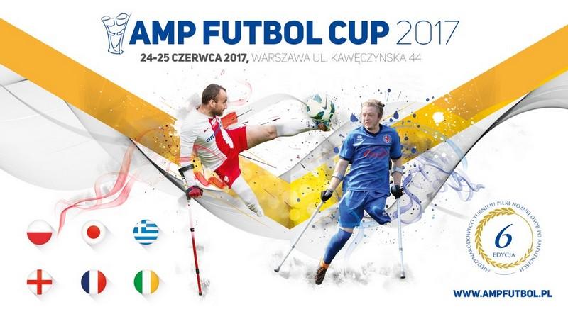 Amp Futbol Cup 2017, plakat