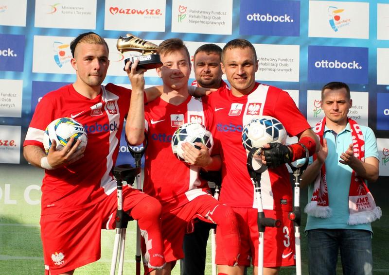 Królowie Strzelców Amp Futbol Cup 2017 fot. Bartłomiej Budny