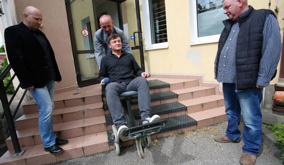wynalazek pana marka - krzesełko dla niepełnosprawnych