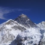 zdjęcie przedstawia szczyt mount everest