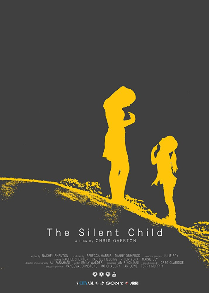 plakat do filmu silent child