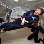Hawking w stanie nieważkości, rok 2007