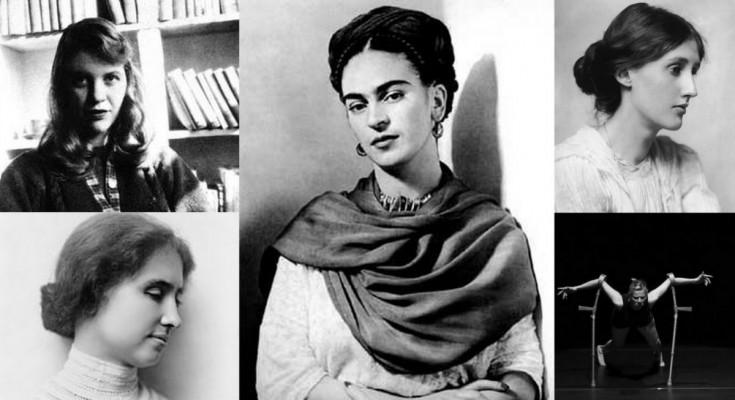 obrazek ze strony internetowej stowarzyszenia, przedstawia zlepek różnych zdjęć kobiet, między innymi Frida Kahlo,