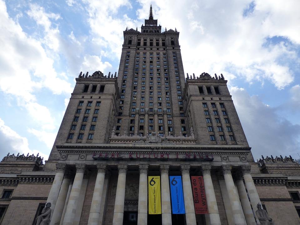 Zdjęcie Pałacu Kultury i Nauki