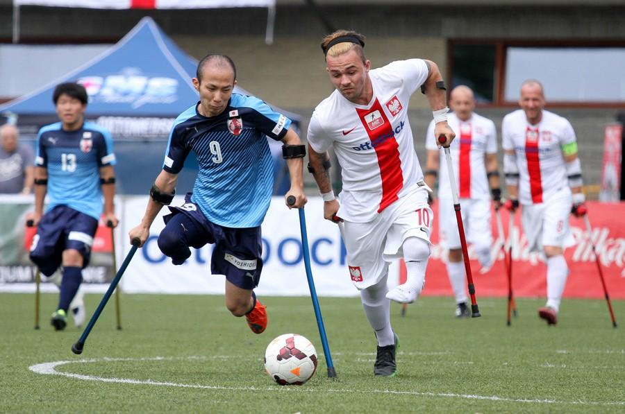 Polska-Japonia Amp Futbol Cup 2017 fot. Bartłomiej Budny