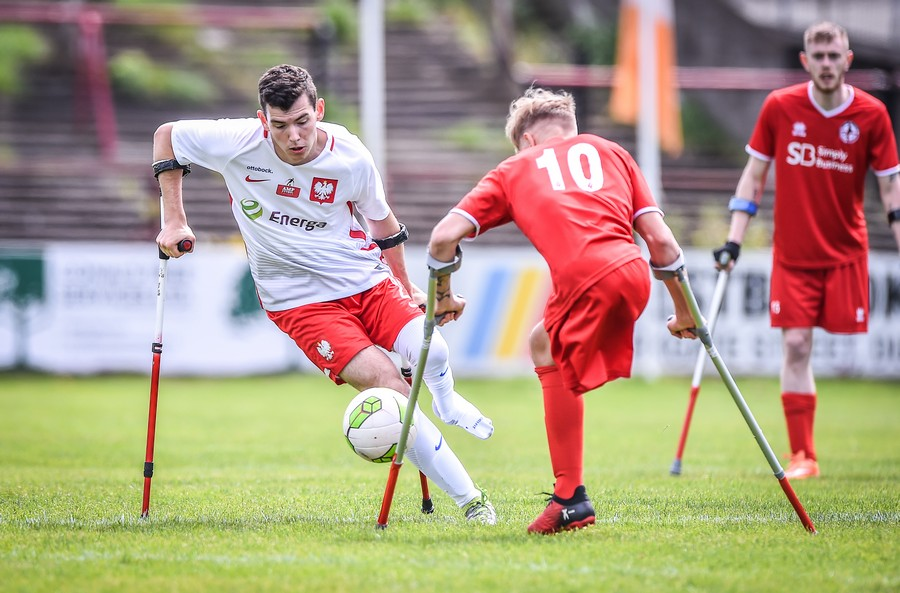 Reprezentacja Amp Futbol w Dublinie