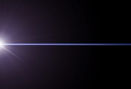 niebieskie światło, wiązka, poświata, niebieski blask, bokeh