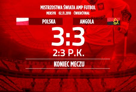 plakat Polska Angola