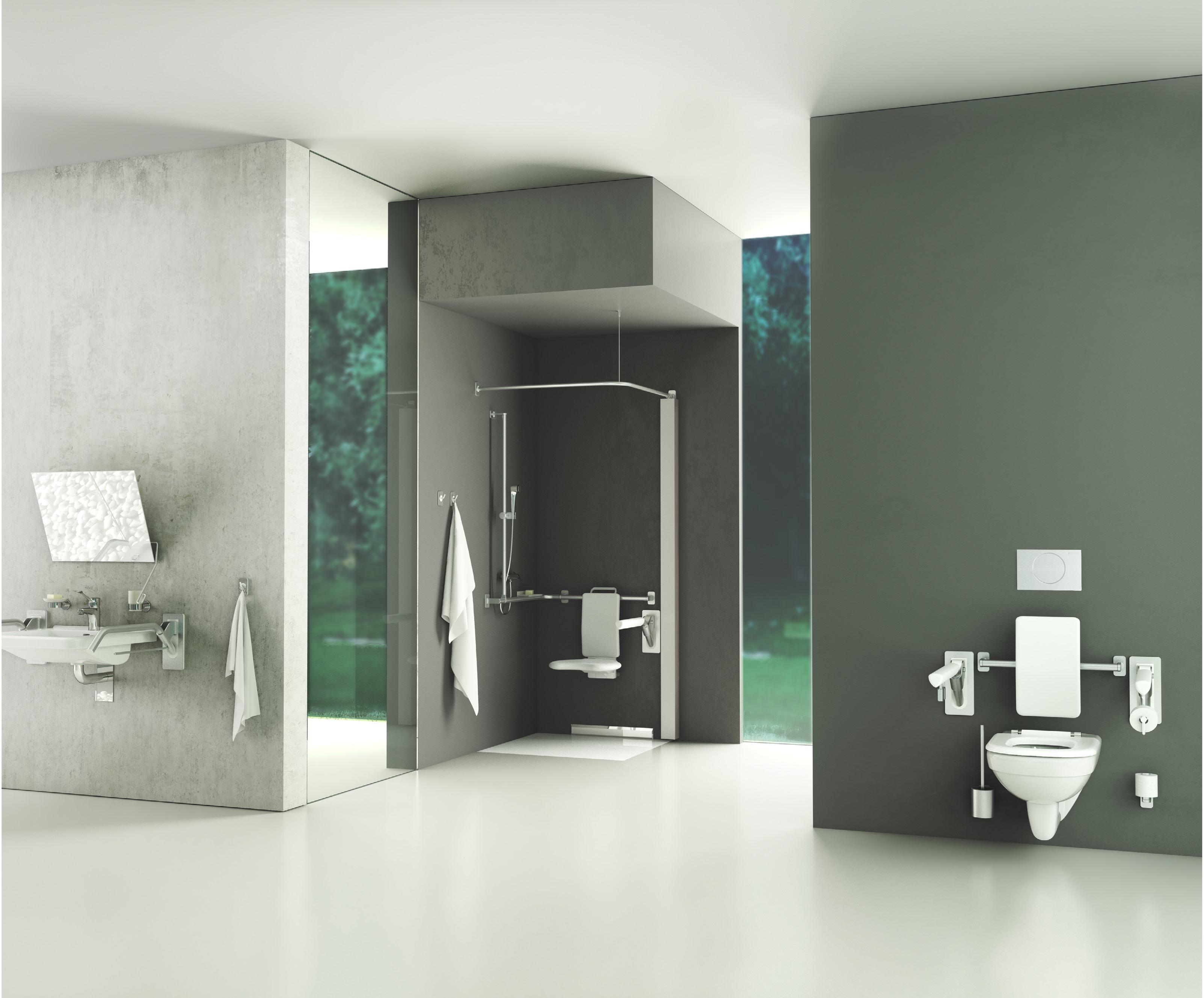 Geberit łazienki Dla Niepełnosprawnych Nowa Swoboda