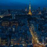 krajobraz miejski miasta Tokio