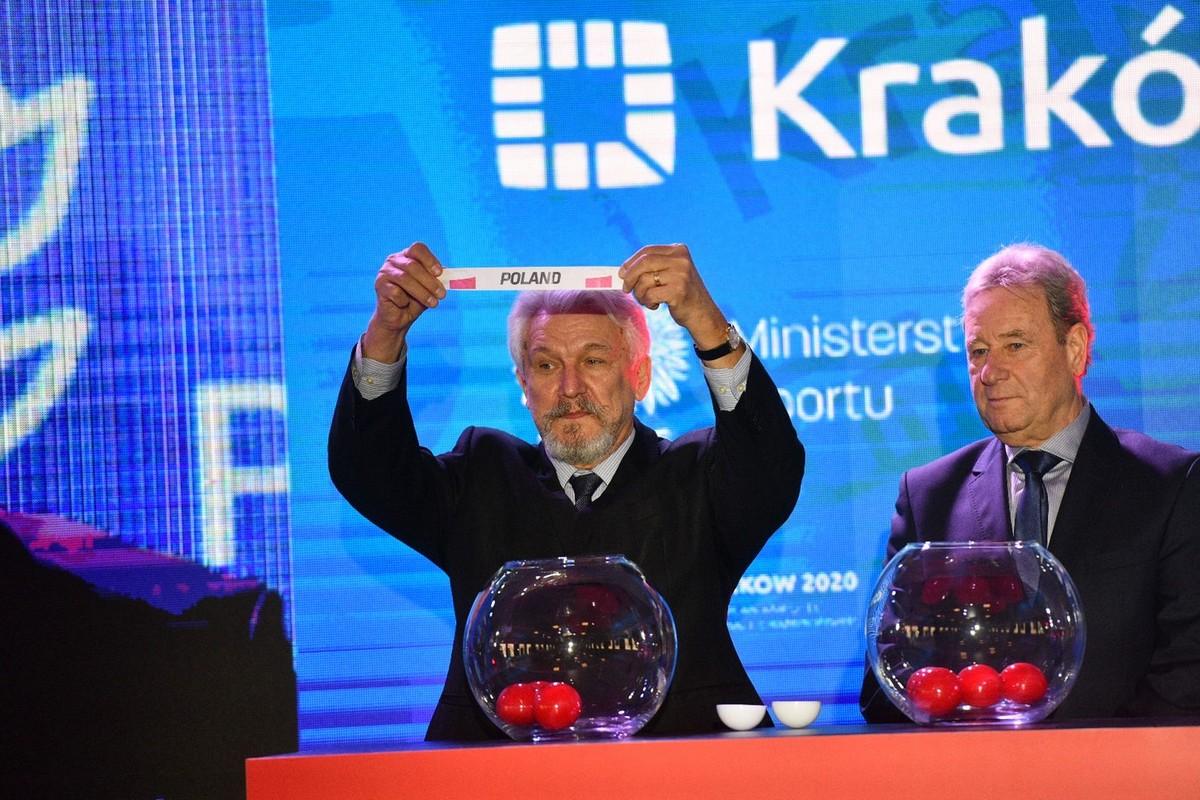 losowanie Amp Futbol EURO Kraków 2020